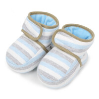 湖保暖鞋不掉软底靴子宝宝加绒棉鞋新生幼儿棉鞋