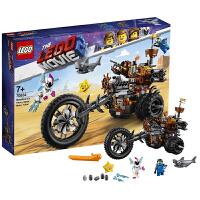 【当当自营】乐高LEGO 乐高大电影2 70834 胡须刚的重金属三轮摩托车