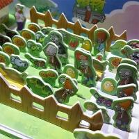 植物大战僵尸3d立体酷拼插拼图玩具DIY亲子动手动脑安全益智游戏