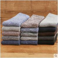 男士加厚袜子男冬季保暖加绒纯棉袜中筒冬天防臭毛巾长袜冬天毛袜