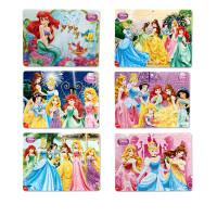 幼儿童拼图40片白雪公主纸质框式拼版3-4-5-6-7岁女孩玩具