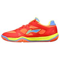 李宁(LI-NING)羽毛球鞋男鞋 跑步训练运动鞋 透气防滑 比赛训练款
