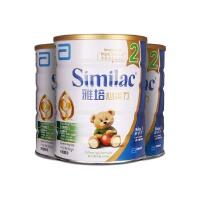 雅培(Abbott)港版心美力2段(6-12月)婴幼儿奶粉 400g 香港经典版爱尔兰原装*3罐