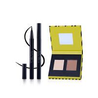 MZING 韩国智能彩妆套装 眼线笔 高光修容粉彩妆2件套 防水纤长 不晕染