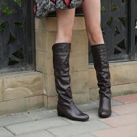 韩版春秋单靴女童靴子大童女孩高筒靴亲子马丁靴公主过膝长靴