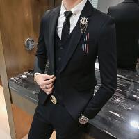 新款休闲西服男修身帅气青年韩版小西装男士外套潮流单西