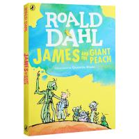 詹姆斯与大仙桃 英文原版 James and the Giant Peach 飞天巨桃历险记 罗尔德达尔 Roald