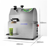 商用蓄电池电动不锈钢甘蔗榨汁机 全自动电瓶压榨机可调节