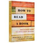 【中商原版】英文原版 How to Read a Book 如何阅读一本书 阅读方法 阅读技巧 阅读指南 经管类书籍