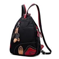 2018070320420370018春季新款防水牛津布双肩包时尚潮女包尼龙多用背包小包学生包