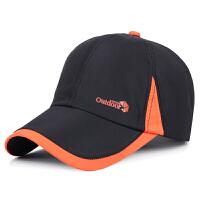 帽子韩版男士户外运动棒球帽夏季女士遮阳防晒帽速干透气鸭舌帽潮