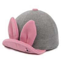女宝宝鸭舌帽 小女孩毛呢帽儿童帽女童女孩鸭舌帽