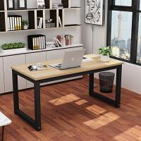 简易电脑桌台式桌钢木书桌简约单人办公桌经济型家用写字台可定制