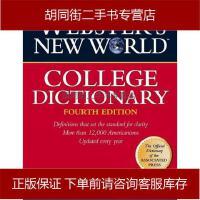 【二手旧书8成新】WEBSTER'S NEW WORLD COLLE韦氏新世界 Agnes 9780028631196