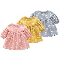 婴童装6个月女宝宝夏装婴幼儿裙子春秋女童潮公主裙连衣裙