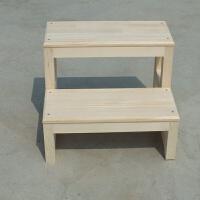 实木楼梯木梯子梯凳家用2步梯子爬梯登高梯小梯子活动木梯