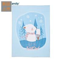 秋冬云毯法兰绒儿童盖毯单层多用毛毯绒毯婴儿毯子宝宝毛毯定制