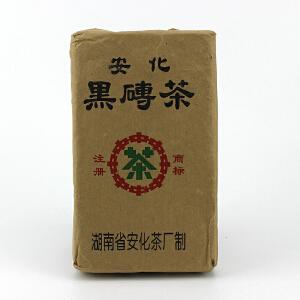 【10砖】1992年中茶牌(砖型紧实-老黑砖)黑茶 380克/砖