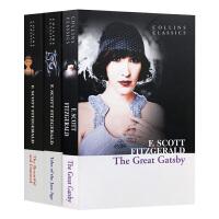 华研原版 The Great Gatsby 了不起的盖茨比 英文原版小说4册 美国经典文学