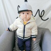 婴儿女童外套秋冬装儿童新款中小童休闲上衣男童宝宝秋冬季棉衣潮