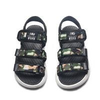 男童凉鞋夏季中大童小童孩宝宝女童男孩儿童沙滩鞋