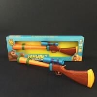 美高乐玩具熊出没光头强枪语音说话儿童玩具枪猎枪耐摔超长MG201