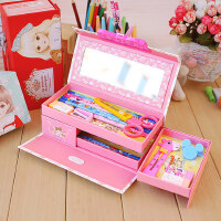 密码文具盒女小学生韩国创意简约多功能可爱大容量卡通铅笔盒男女孩儿童幼儿园抖音网红同款纸质笔盒1-3年级