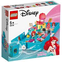 【当当自营】LEGO乐高积木 12月新品 迪士尼系列 43176 爱丽儿的故事书大冒险 玩具礼物