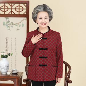咔金琳  中老年女装秋冬装新款毛呢时尚外套上衣毛领中年女士风衣中年妈妈装优雅大码呢子大衣