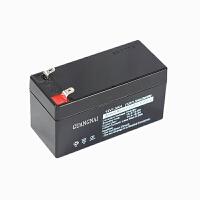 12V1.3AH/20HR铅酸蓄电池消防卷帘门报警主机 水鼓防火门电瓶电池