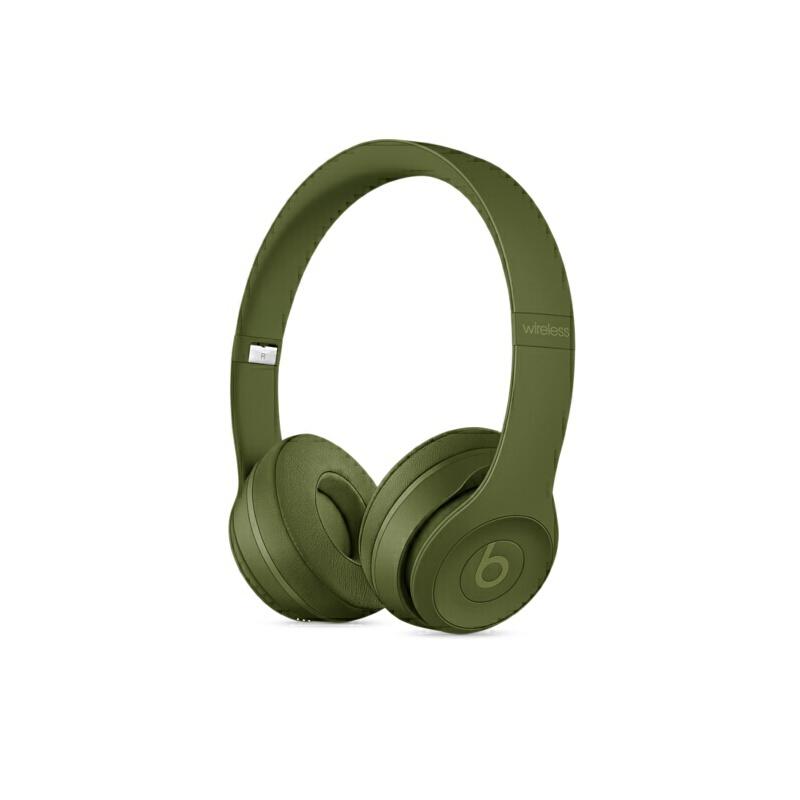 Beats SOLO3 WL 头戴式耳机 草原绿 MQ3C2PA/A可使用礼品卡支付 国行正品 全国联保