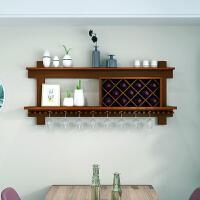 实木酒架壁挂家用置物架酒格子菱形现代简约墙壁酒柜餐厅红酒架