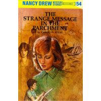 Nancy Drew #54 The Strange Message in the Parchment 南茜・朱尔:羊皮