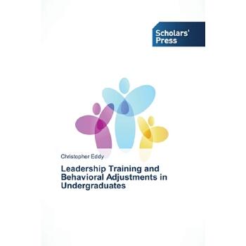 【预订】Leadership Training and Behavioral Adjustments in Undergraduates 预订商品,需要1-3个月发货,非质量问题不接受退换货。
