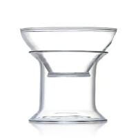隔茶叶过滤器 手工耐热玻璃功夫茶具 茶漏滤茶器过滤网茶道