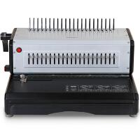 得力3883 高效省力电动梳式胶圈装订机