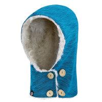 户外抓绒帽子加厚男女士保暖防风滑雪帽骑行头套运动帽