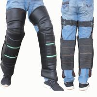 摩托车护膝冬季保暖防寒短款电动电瓶车护膝骑行防风护腿骑车挡风