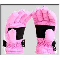 宝宝全指防水防寒暖绒户外运动手套儿童手套滑雪手套