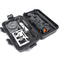 旅行户外SOS装备探险求生工具套装多功能野外生存急救盒应急用品