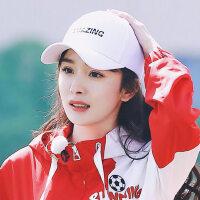 鸭舌帽子女户外时尚字母棒球帽韩版学生遮阳太阳帽男