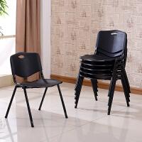 折叠会议桌台培训桌椅组合翻板长条桌带轮课桌椅条形桌 自由拼接