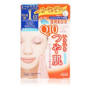 日本Kose 高丝 Q10提拉面膜 5片