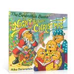 顺丰发货 英文原版Berenstain Bears' Night Before Christmas贝贝熊的圣诞平安夜