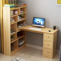 良木家用电脑桌宜家家居简约转角台式书桌书柜书架学生桌子旗舰店