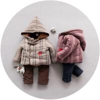 男宝宝唐装童装冬装男童周岁生日礼服1-4岁小男孩新年中国风套装