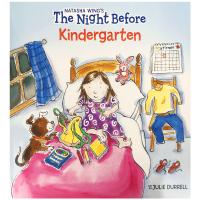 现货正版 上幼儿园的前一晚 英文原版 The Night Before Kindergarten 儿童情绪管理绘本 全英