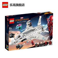 【当当自营】LEGO乐高积木超级英雄系列76130 8岁+钢铁侠战机和无人机攻击