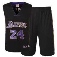 湖人队24号科比黑色球衣篮球服24号科比3号艾弗森35号杜兰特1号罗斯2号欧文23号詹姆斯23号乔丹