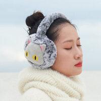 卡通耳罩保暖女韩版可爱 懒趴趴耳暖 女 冬加厚护耳包冬季女可爱